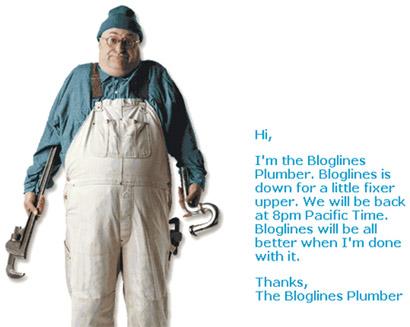 Bloglines_plumber