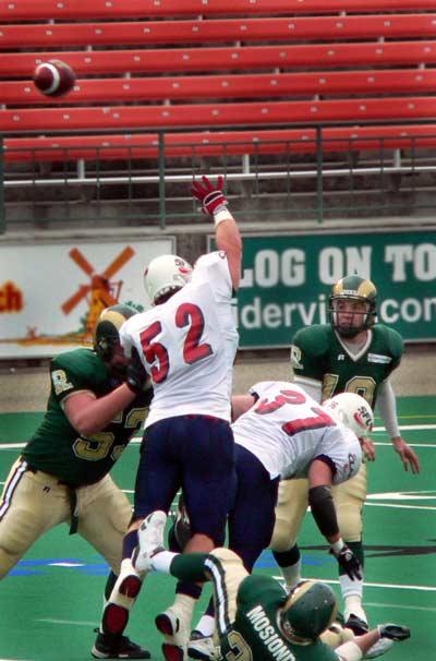 Regina Rams Quarterback