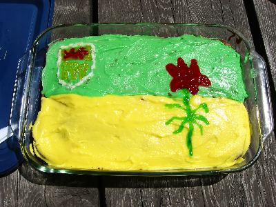 Sask Blogs Barbecue - Cake