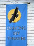 Sign outside Dancy Sky Theatre, Meacham Saskatchewan